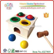 Knock Ball brinquedos de madeira
