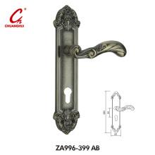 Aluminum Lock Furniture Door Pull Handle (ZA399)