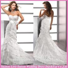 WD1194 alibaba recommand para grossistas mais recentes vestidos de noiva de casamento strass de diamante cintura camadas saia vestidos de trem nupcial