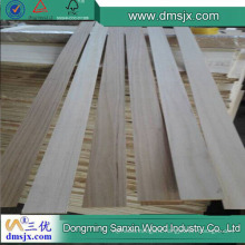 3mm Paulownia Solid Finger Joint for Surfboard