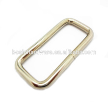 Beliebte Tasche Accessies High Quality Metall Ringe Rechteck Ring