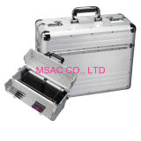 Fireproof Padded Aluminum Attache Case / Document Cases For Carry Laptop