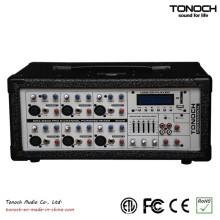 Tonoch 6 Canais Power Box PA Mixer