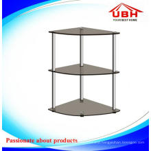 Glass Corner Stand for Flower Pot or Anything You Like/Table