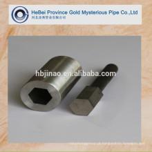 Hexagonal OD Canto redondo Tubos de aço sem costura e tubos RFQ