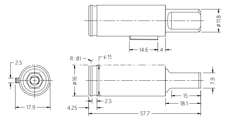 Damper Drawing For Washing Machine Lid