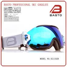 TPU flexible frame custom ski goggles with CE,FDA certificate