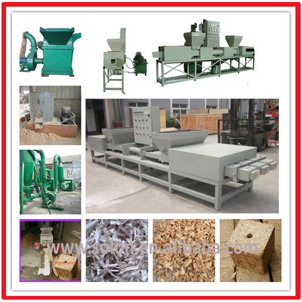 Wood Chips Block Press Machines
