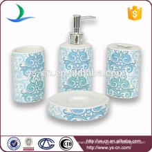 2014 Vente en gros Ensembles de salle de bains en céramique modernes avec décalque