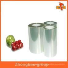 Materiales de embalaje pe de grado alimenticio película de estiramiento envoltura de plástico película de paleta, vajilla embalaje