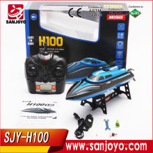 High Quality 2017 Skytech H100 2.4G Remote Controlled 180 Degree Flip kid toy 4 channel High Speed Electric RC Racing Boat