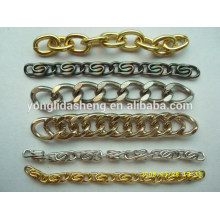 Bag accessories snake shape bag chain connect metal chains