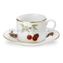 84 pcs dinnerware stock fine bone china cup&saucer