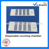 Disposable sperm counting chamber