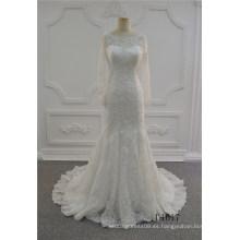 Grace Ivory sirena vestido de novia China vestido de novia vestidos de novia 2017 vestido de novia de encaje