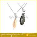 Любовь ожерелье пара подвески ожерелье для любовник из нержавеющей стали
