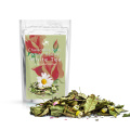 Mélanges de thé à base de plantes Rose relaxante de qualité Mélanges de thé à base de pivoine blanche Rose
