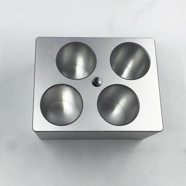 machined instrument aluminum fittings