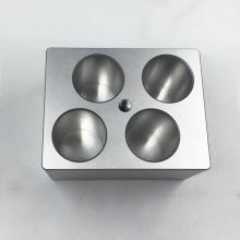 Peças de alumínio de usinagem personalizadas de qualidade para instrumentos