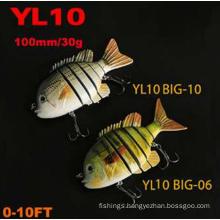 100mm 30g Plastic Fishing Swimbait