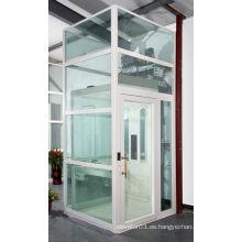 Lujo vista panorámica / panorámico villa ascensor de cristal, ascensor para el hogar, precio barato de fábrica de China