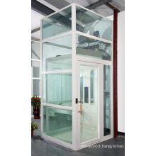 luxury sight-seeing/panoramic glass villa elevator,elevator for home,cheap price from China factory