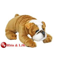 Meet EN71 and ASTM standard ICTI plush toy factory plush toy bulldog