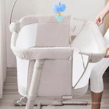 Ronbei new born baby bed Portable baby crib