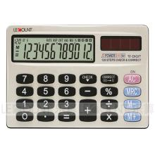 Portátil 12 dígitos de doble poder mini tamaño de la calculadora de bolsillo (ca3058)
