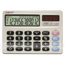 Portátil 12 dígitos de dupla potência Mini tamanho Pocket Calculator (CA3058)