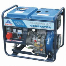 Diesel Engine Generator, Three-phase with 12.5L Fuel Tank Capacity