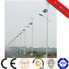 Split Typ Solar Panel Batterie LED Solar Straßenbeleuchtung Pole