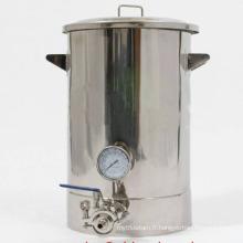 Nouveau style à bas prix en acier inoxydable 15gallon Brewery Équipement à usage domestique