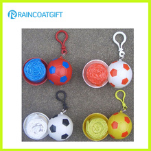Promotional Soccer Rain Poncho Rep-010
