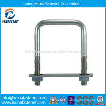 На складе Китайский производитель Лучшая цена DIN3570 Углеродистая сталь / нержавеющая сталь квадратные болты u