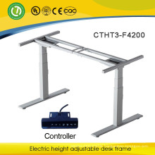 Sit stand desk eletric lifting column electric height adjustable table frame electric lifting desk
