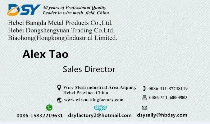wire and wire mesh product contacts