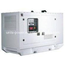 Generador de poder silencioso del motor diesel 20kVA con el motor diesel de Kubota