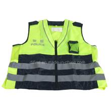 Veste de sécurité réfléchissante à haute visibilité avec En471 (DFV1016)