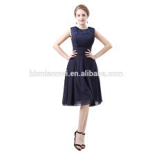 Frühling neues Design aus Schulter Abendkleid aus Schulter Perlen eine Linie Nachthemd Abend Prom Kleid Partykleid