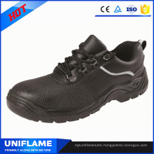 Black China Brand Steel Toe Safety Work Shoes Ufa077