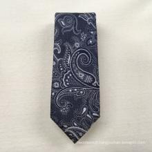 Fournisseur chinois Créer votre propre marque Jacquard tissés Paisley gros cravates en soie