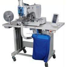 Máquina de costura automática de padrão de perfuração