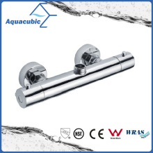 Bathroom Shower Brass Chromed Anti-Scald Thermostatic Tap (AF4102-7)