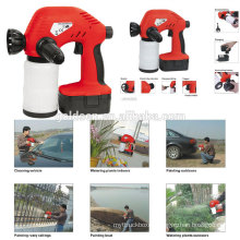 Wireless Ni-Cd Battery Powered Rechargeable Electric Portable Mini Painting Sprayer Cordless 18v Paint Spray Gun