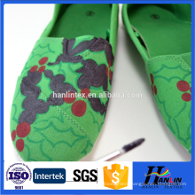 hotsale printed canvas fabric for shoes
