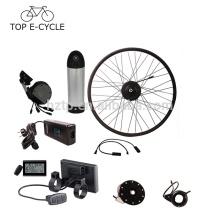 350 W 20 pouces 26 pouces 28 pouces 700C bafang hub moteur avec downtube batterie vélo électrique kit de conversion
