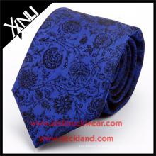 100% fait à la main de haute qualité en soie Jacquard tissé Floral Cravate en gros PayPal