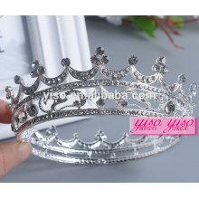 Coroa real decoração europeia moda decorativo metal coroas