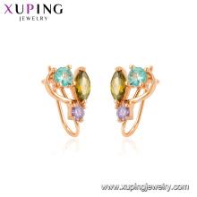 95086 Xuping Jewelry Boucles d'oreilles à la mode en or 18K